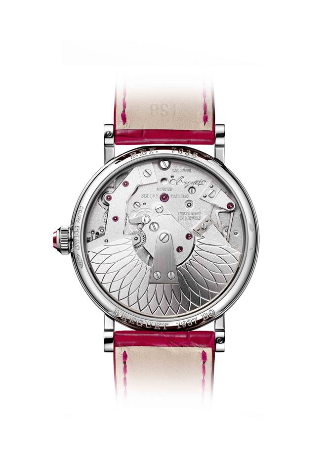 Breguet Tradition Dame 7038 watch presented at 2016 Baselworld -
