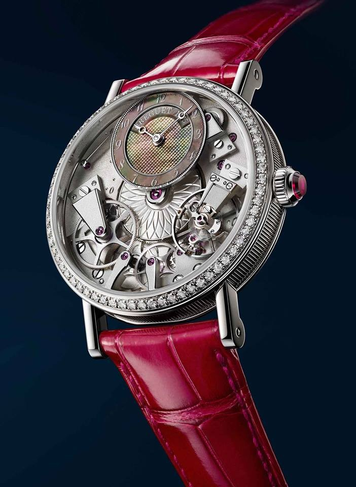 Breguet Tradition Dame 7038 watch presented at 2016 Baselworld