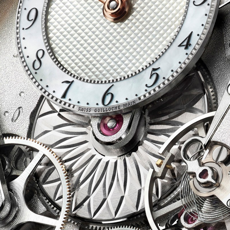 Breguet Tradition Dame 7038 watch presented at 2017 Baselworld-