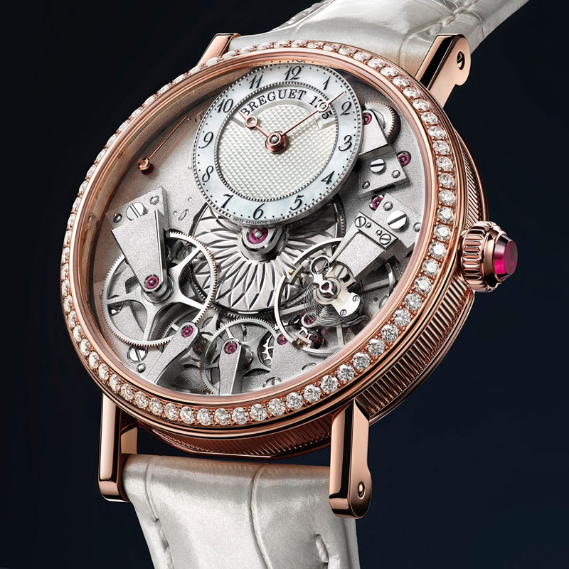 Breguet Tradition Dame 7038 watch presented at 2017 Baselworld-2luxury2com