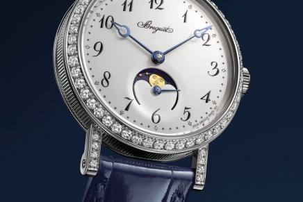 Breguet is chic and romantic with Classique Phase de Lune Dame 9088