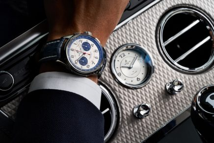 A Breitling watch worthy of the Bentley and Mulliner names
