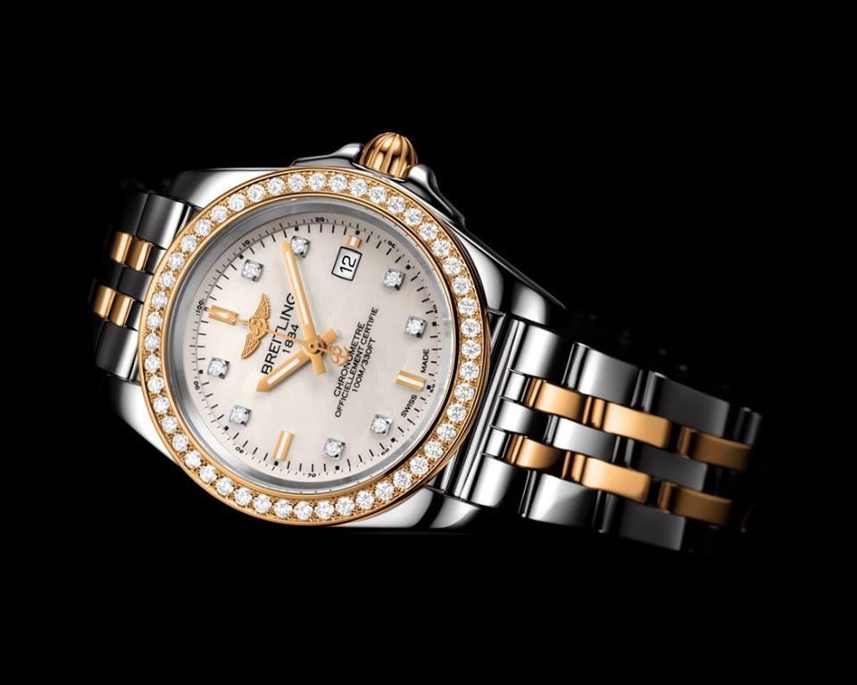 Breitling for Ladies - Galactic 32 Sleek Edition Watch