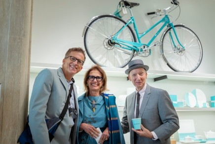 2019 Transatlantic Fashion Week at Sea sets sail with Breakfast at Tiffany's Blue Box Cafe