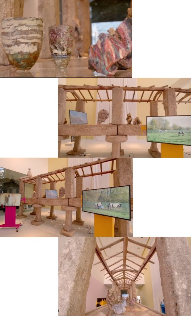 British artist Hilary Lloyd for Loewe design miami 2019