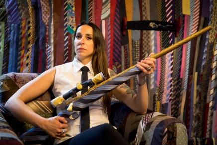 Hot under the collar: Venice Biennale artist uses 27,000 neckties for installation