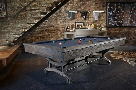 High Design Home Game Room: Brunswick Billiards' fall 2015 collection