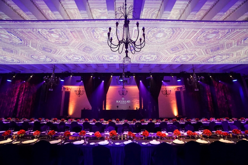 Buccellati Gala Dinner at the Shanghai Exhibition Centre - Setting