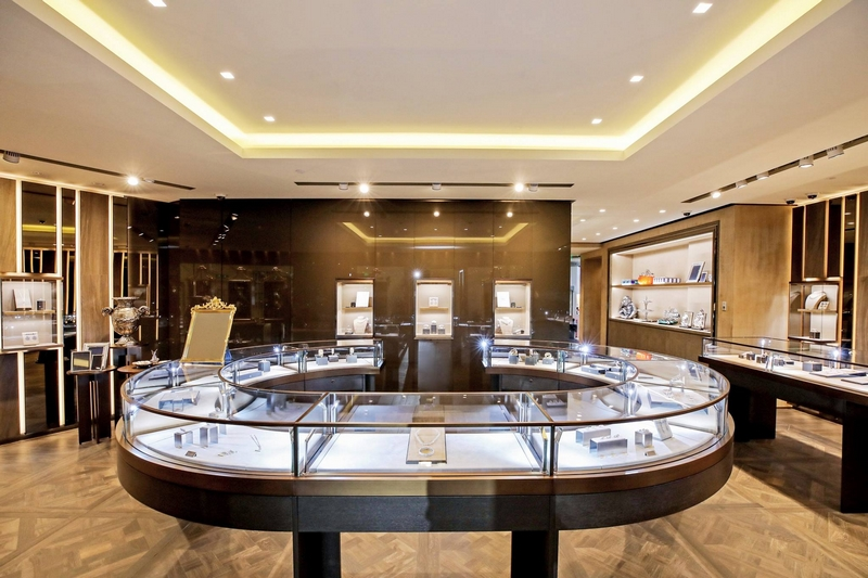 Buccellati first boutique at Plaza 66 in Shanghai China--