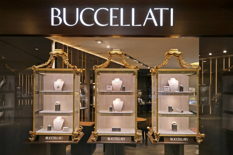 Buccellati first boutique at Plaza 66 in Shanghai China