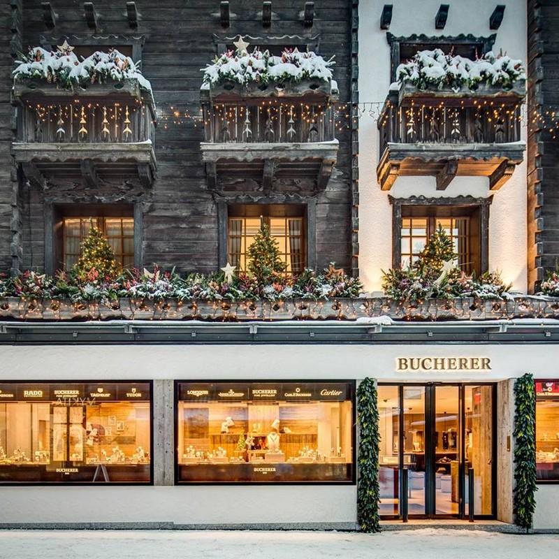 Bucherer boutique in Zermatt