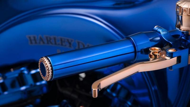 Bucherer creates The Harley-Davidson Blue Edition-2018