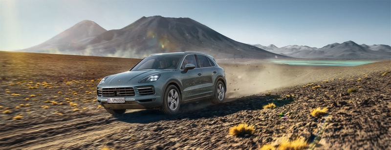 Buckle up for a thrilling ride and experience the Porsche World Expedition-