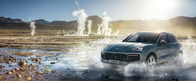 Buckle up for a thrilling ride and experience the Porsche World Expedition