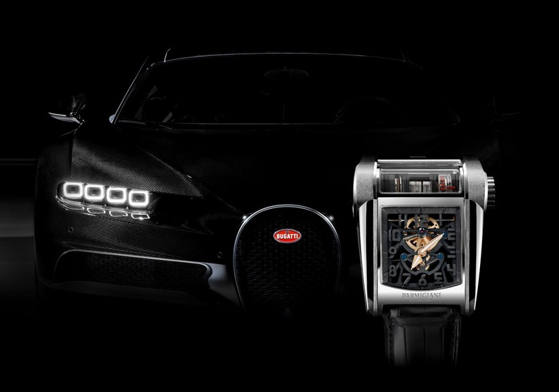Bugatti 390 Coaxial - An engine block on the wrist