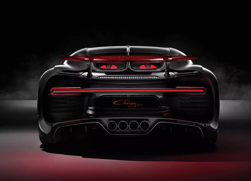 Bugatti Chiron Sport photos-rear