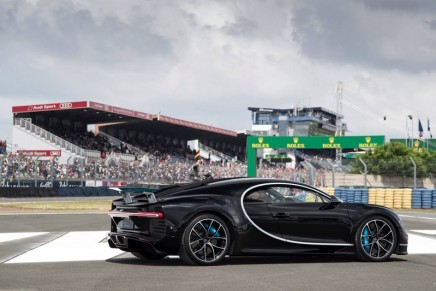 Chiron debuts at the 24 Hours of Le Mans