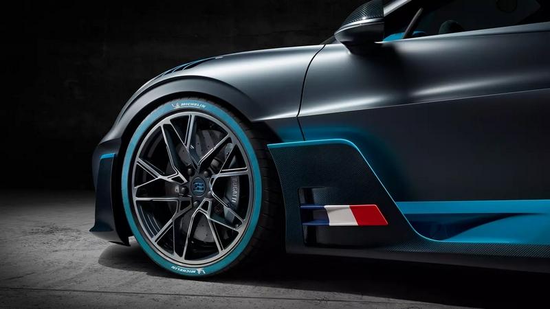 Bugatti DIvo wheels