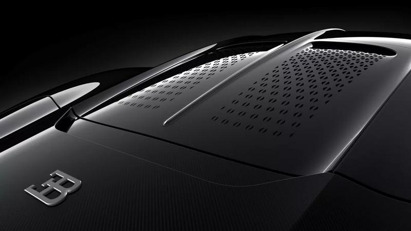 Bugatti La Voiture Noire Detials