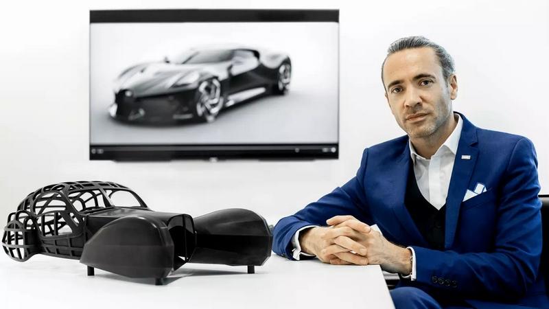 Bugatti La Voiture Noire - Etienne Salome Bugatti Deputy Design Director