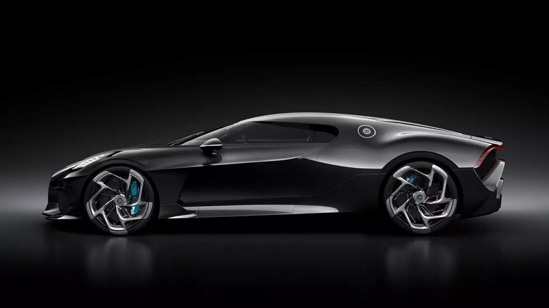 Bugatti La Voiture Noire - Lateral