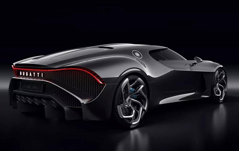 Bugatti La Voiture Noire - Rear Lateral