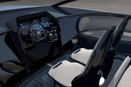 Bugatti Niniette 66 yacht. Re-designed to be the perfect match to the Bugatti Chiron
