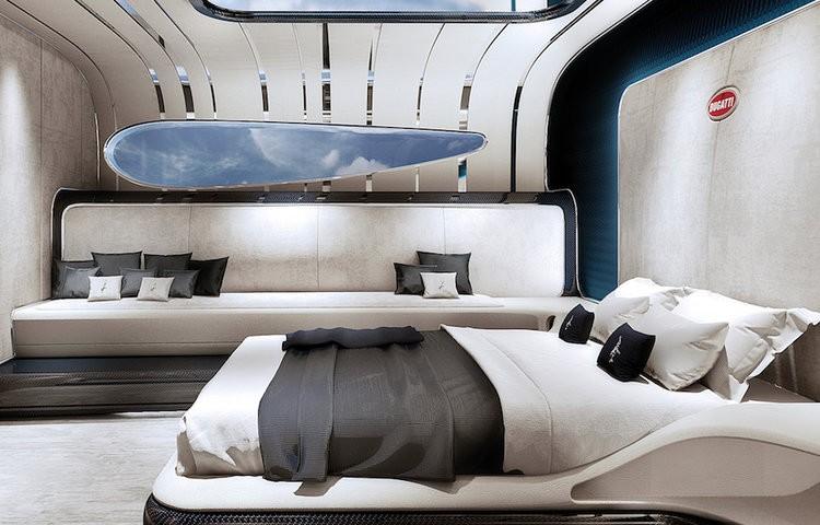 Bugatti Niniette 66 yacht - interior