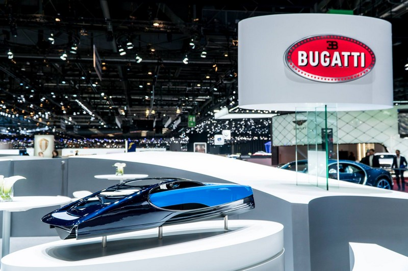 Bugatti Niniette 66 yacht - stand