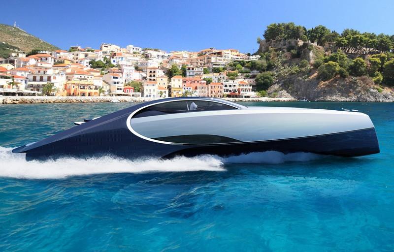 Bugatti Niniette 66 yacht