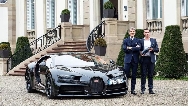 Bugatti x Champagne Carbon