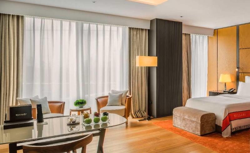 Bulgari Hotel Beijing - superior room