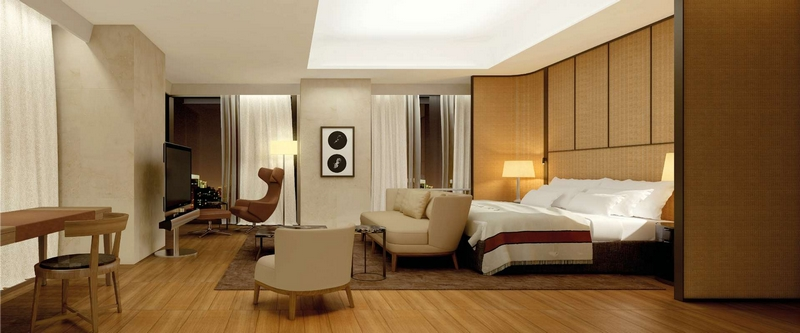 Bulgari Hotel Beijing - the terrace suite