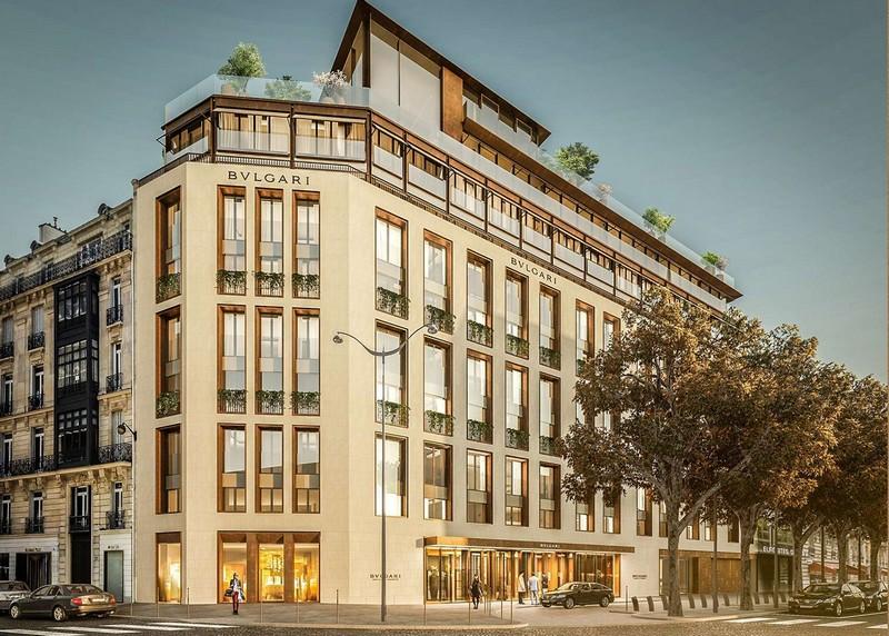 Bulgari Hotel Paris Facade 2020