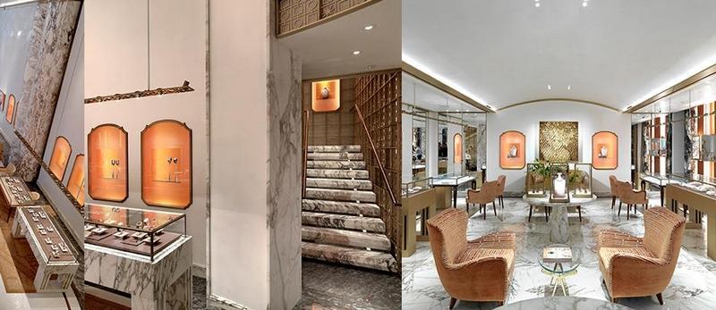 Bulgari New York Fifth Avenue flagship 2017-