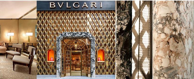 Bulgari New York Fifth Avenue flagship 2017 design details