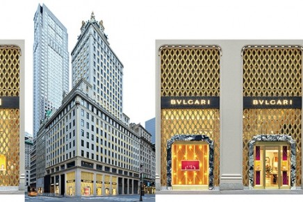 The iconic Bulgari Fifth Avenue boutique is finally revealed