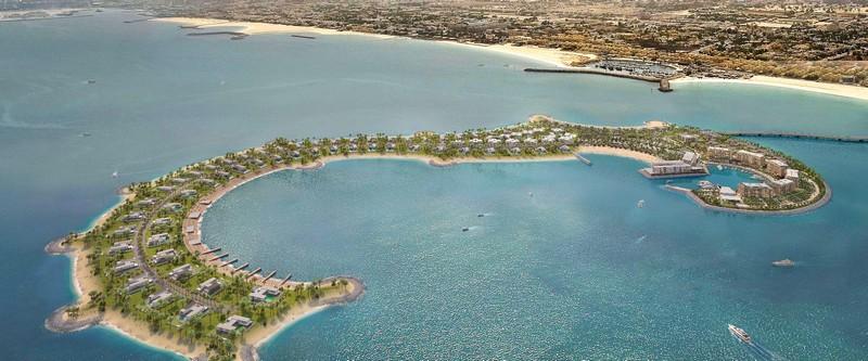Bulgari Resort Dubai - Bulgari Aerial