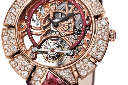 High-Mechanical Watches for Ladies – a perfect fusion of expertise in both watchmaking and jewellery