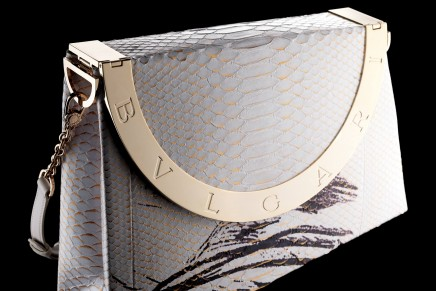Bulgari and Central Saint Martins bag design collaboration
