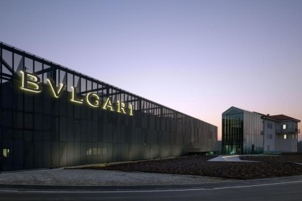 Bulgari is introducing the most important jewelry manufacturing facility in Europe