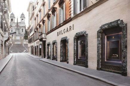 Bulgari returns Spanish Steps to their gleaming splendor