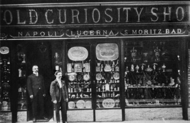 Bulgari's Old Curiosity Shop