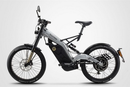 The new Bultaco Albero moto-bike concept offers the maneuverability and lightness of a bicycle