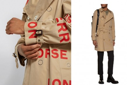 Trench Coats Autumn/Winter 2019:  just untraditional enough to feel dynamic