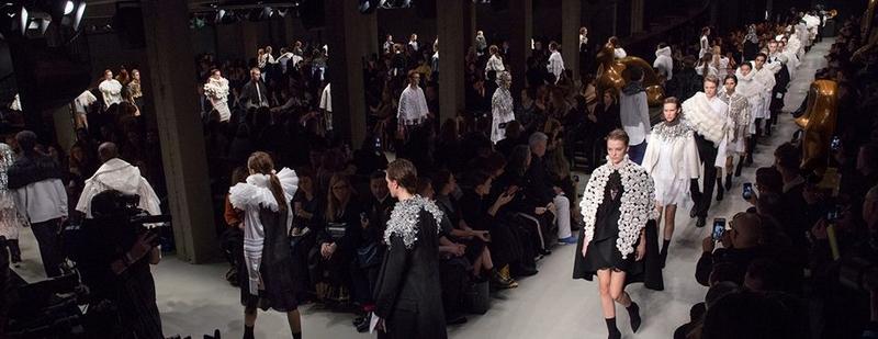 Burberry catwalk London Fashion Week2017