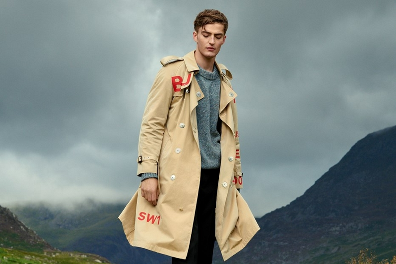 Burberry trench coat - Maison Margiela jumper - Lanvin trousers