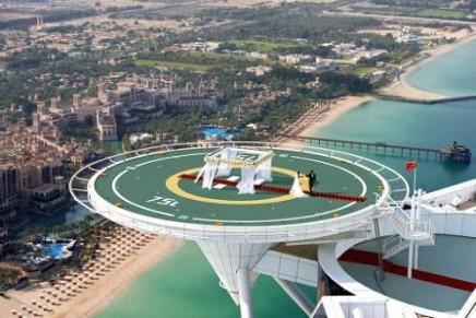 Burj Al Arab to play Cupid 212 metres above the azure Arabian Gulf