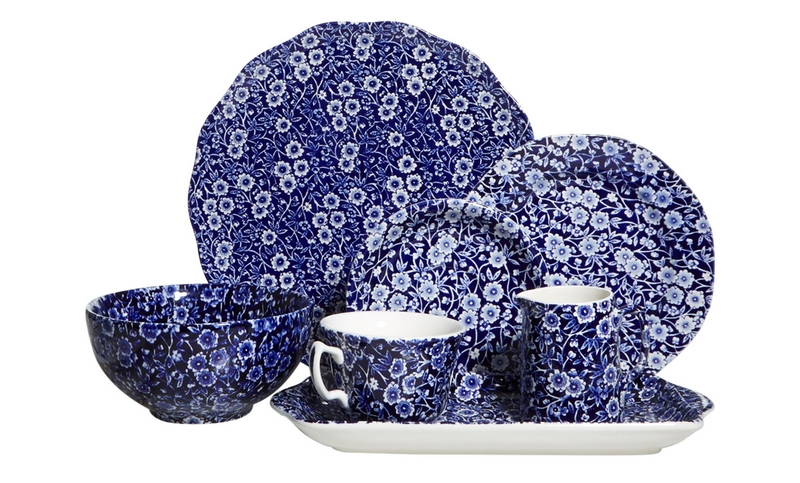 Burleigh Calico Tableware Range