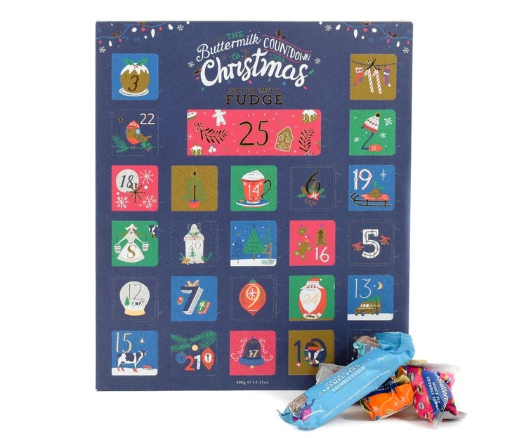 Buttermilk Fudge Advent Calendar